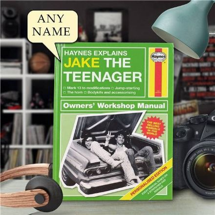 Haynes Explains Teenagers - Personalised Book